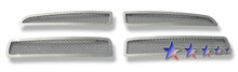 2009 Nissan Maxima   Stainless Steel Billet Grille - APS-GR14FEB25S-2009