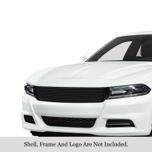 2018 Nissan Maxima   Stainless Steel Billet Grille - APS-GR14FFC98S-2018