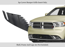 2016 Nissan Rogue   Stainless Steel Billet Grille - APS-GR14FFC88S-2016