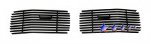 2007 Toyota Camry   Stainless Steel Billet Grille - APS-GR20FEB15S-2007