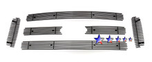 2007 Toyota Camry   Stainless Steel Billet Grille - APS-GR20HGH40C-2007