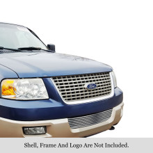 2008 Toyota Sequoia   Stainless Steel Billet Grille - APS-GR20FGG75S-2008