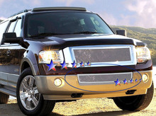 2000 Toyota Tacoma   Stainless Steel Billet Grille - APS-GR20FFE63S-2000