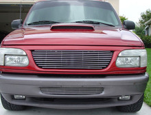 2002 Toyota Tacoma   Stainless Steel Billet Grille - APS-GR20FED38S-2002