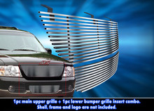 2003 Toyota Tacoma   Mesh Grille - APS-GR20GED38T-2003