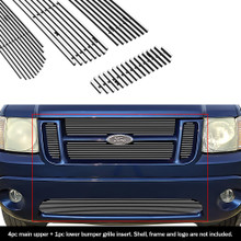 2005 Toyota Tacoma   Black Wire Mesh Grille - APS-GR20GFD56H-2005