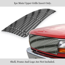 2011 Toyota Tacoma   Stainless Steel Billet Grille - APS-GR20HED61C-2011