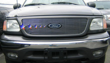 2014 Toyota Tacoma   Stainless Steel Billet Grille - APS-GR20HFI71S-2014