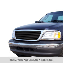2002 Toyota Tundra   Aluminum Billet Grille - APS-GR20HED83A-2002