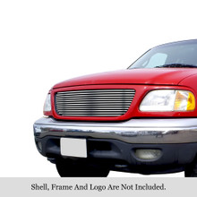 2004 Toyota Tundra   Black Wire Mesh Grille - APS-GR20GEC93H-2004