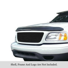 2007 Toyota Tundra   Black Stainless Steel Billet Grille - APS-GR20FGH41J-2007