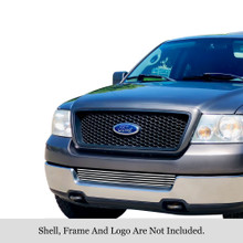 2011 Toyota Tundra   Black Wire Mesh Grille - APS-GR20GFG18H-2011