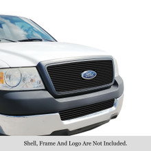 2013 Toyota Tundra   Black Wire Mesh Grille - APS-GR20GFG18H-2013