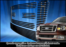 2014 Toyota Tundra   Stainless Steel Billet Grille - APS-GR20FEI87S-2014