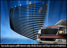 2021 Toyota Tundra   Stainless Steel Billet Grille - APS-GR20FEI87S-2021