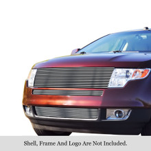 2009 Ford Edge   Stainless Steel Billet Grille - APS-GR06HFF25C-2009