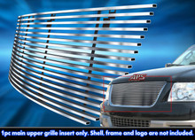 2005 Ford Expedition   Stainless Steel Billet Grille - APS-GR06HEC72C-2005