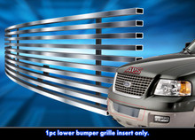 2004 Ford Expedition   Stainless Steel Billet Grille - APS-GR06HEC73C-2004