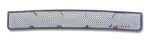 2012 Ford Expedition   Black Wire Mesh Grille - APS-GR06GEC35H-2012
