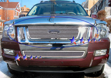 2007 Ford Explorer Sport Trac   Mesh Grille - APS-GR06GEE28T-2007
