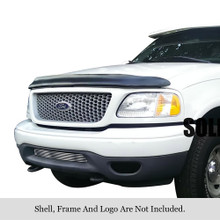 2002 Ford Expedition 2WD  Stainless Steel Billet Grille - APS-GR06HEJ84C-2002B