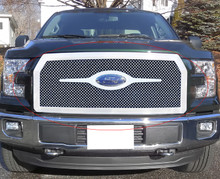 2015 Ford F-150   Mesh Grille - APS-GR06GFC10S-2015