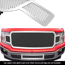2018 Ford F-150   Mesh Grille - APS-GR06GFD00S-2018