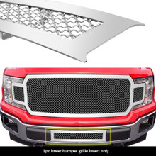 2018 Ford F-150   Mesh Grille - APS-GR06GFD01S-2018