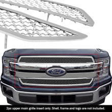 2019 Ford F-150 Lariat  Mesh Grille - APS-GR06GFD42S-2019B