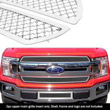 2019 Ford F-150 King Ranch  Mesh Grille - APS-GR06GFD43S-2019B