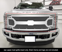 2018 Ford F-250   Mesh Grille - APS-GR06GFC63S-2018C