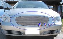 2000 Ford Excursion   Stainless Steel Billet Grille - APS-GR06FAA42S-2000E