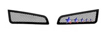 2009 Ford F-250 SD   Stainless Steel Billet Grille - APS-GR06FGH03S-2009D