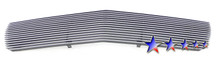 2012 Ford F-650   Stainless Steel Billet Grille - APS-GR06FEH00S-2012A