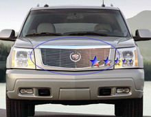 2006 Ford F-650   Stainless Steel Billet Grille - APS-GR06FEH00S-2006B