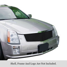 2013 Ford Fusion   Stainless Steel Billet Grille - APS-GR06FEI41S-2013