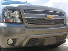 2008 Ford Mustang   Black Wire Mesh Grille - APS-GR06GFJ12H-2008