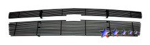 2014 Ford Mustang GT  Stainless Steel Billet Grille - APS-GR06FEI25C-2014