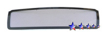2011 Chevy Avalanche   Black Wire Mesh Grille - APS-GR03GEB28H-2011C
