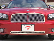 2008 Dodge Charger   Mesh Grille - APS-GR04GGH89S-2008
