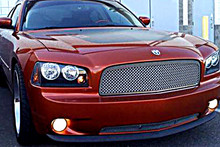 2010 Dodge Charger   Mesh Grille - APS-GR04GGH89T-2010
