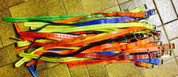 5x Used- Garmin Dog Collar Straps.