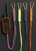 Paracord Long Lanyard with safety Clip.
