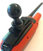 Garmin Alpha, Astro, DriveTrack  G-ball adapter for Ram mounts.