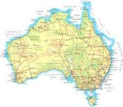 Full Topographic Map Card for Garmin Alpha100 . Australia