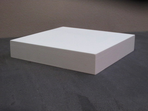 "Default version combines a 3/8"" Ultralight LDF top surface with a 3/4"" X 1-1/8"" rectangular basswood  base for an overall thickness of 1-1/2"""