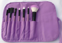 7 Piece Brush Set - Winter - Purple