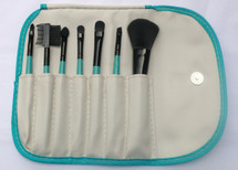 7 Piece Brush Set - Spring - Ivy Green