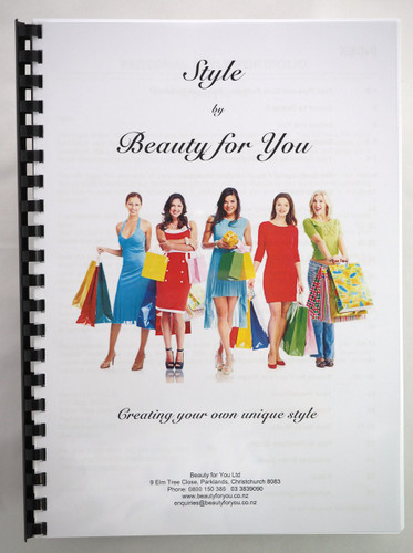 Style by Beauty for You - Creating your own unique style - bound copy