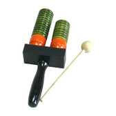 Agogo Block Double with Mallet - (Small) #pe-ab-300(S)